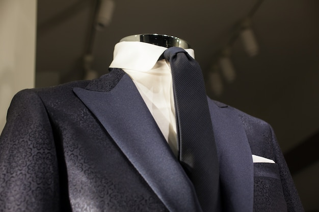 Close up of male suit Premium Photo