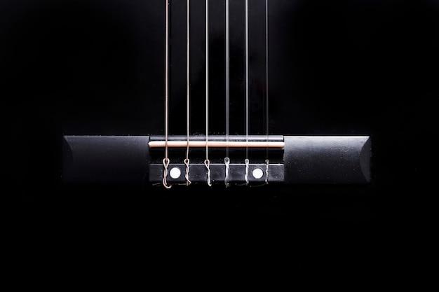 ギターのクローズアップ Premium写真