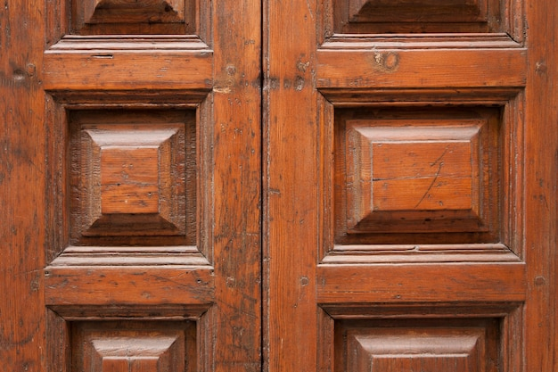 Exceptionnel Close Up Of Antique Wooden Door Free Photo