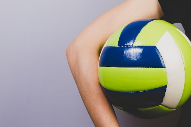 Background Abstract Sport Volleyball Blue Yellow Ball: Volleyball Vectors, Photos And PSD Files
