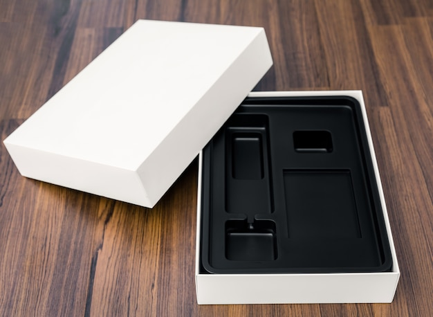 Close-up of open box Photo | Free Download