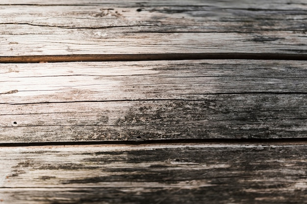 Close-up of old wooden textured backdrop Free Photo