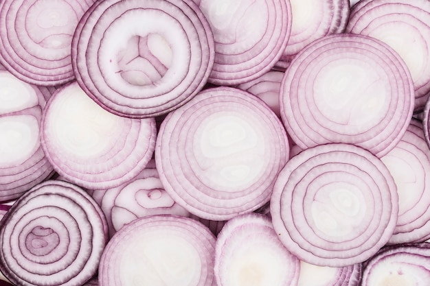 Close up onion texture background Free Photo