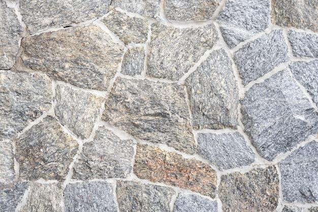 石壁の素朴なグランジシームレステクスチャ背景の一部を閉じる Premium写真
