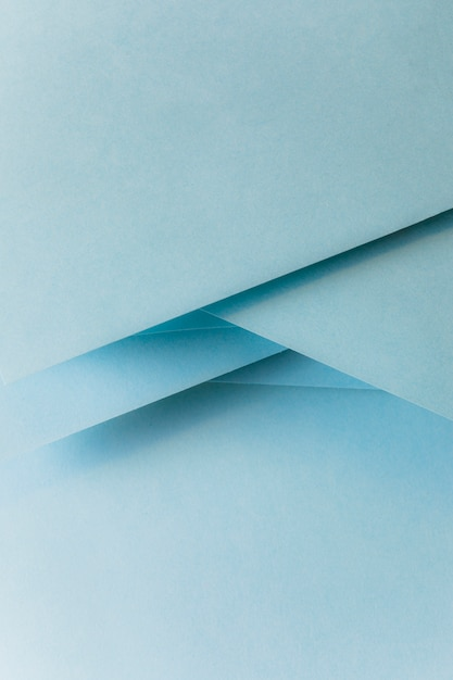 Close-up of pastel blue colored paper banner Free Photo