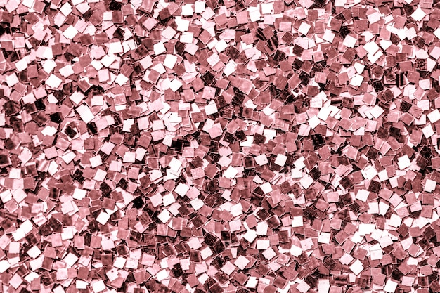 Close up of pink sequin background Free Photo