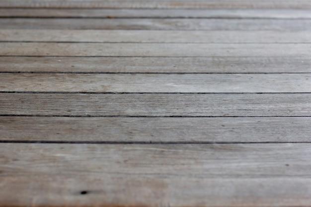 자연 패턴 질감 판자 나무 테이블 바닥을 닫습니다 프리미엄 사진