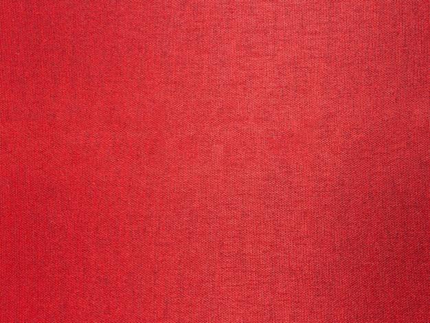Close up red silk fabric Premium Photo