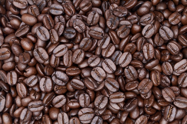 Close up shot of coffee background Premium Photo