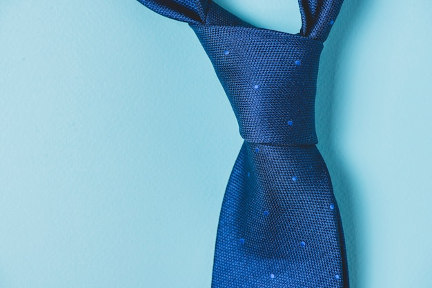Close-up of tie knot Free Photo