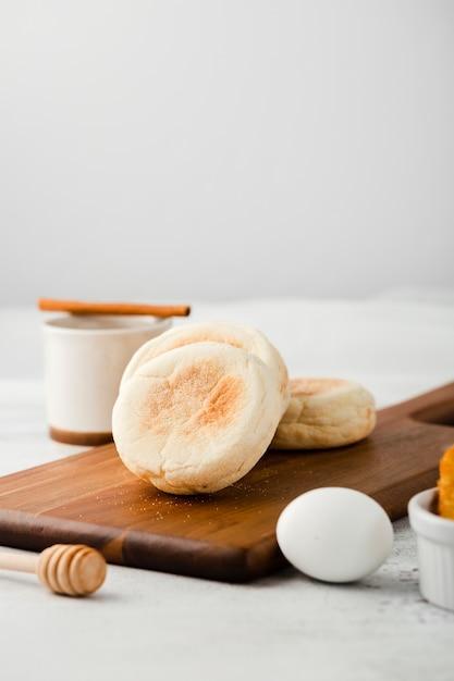 Взгляд конца-вверх хлебцев завтрака Бесплатные Фотографии