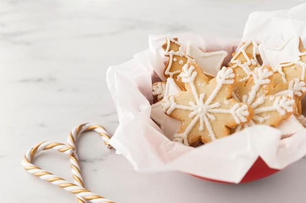 おいしいクッキーの概念の拡大図 無料写真