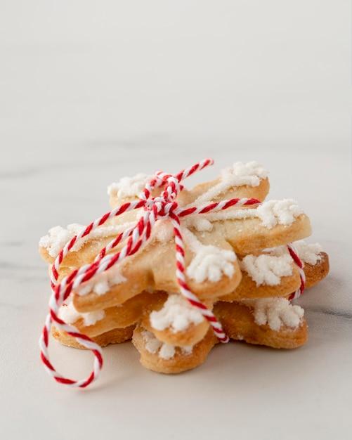 Крупным планом вкусное печенье Бесплатные Фотографии