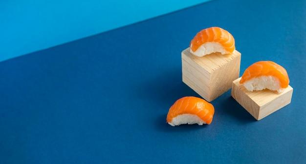 Крупным планом вид вкусной суши концепции Premium Фотографии