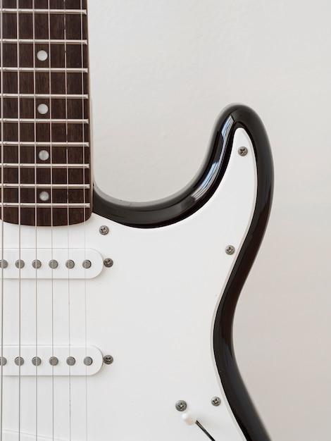 ギター音楽のコンセプトのクローズアップビュー 無料写真