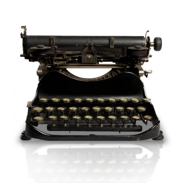 Close-up of vintage typewriter Free Photo