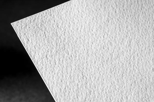 Крупный план белой текстурированной бумаги Бесплатные Фотографии