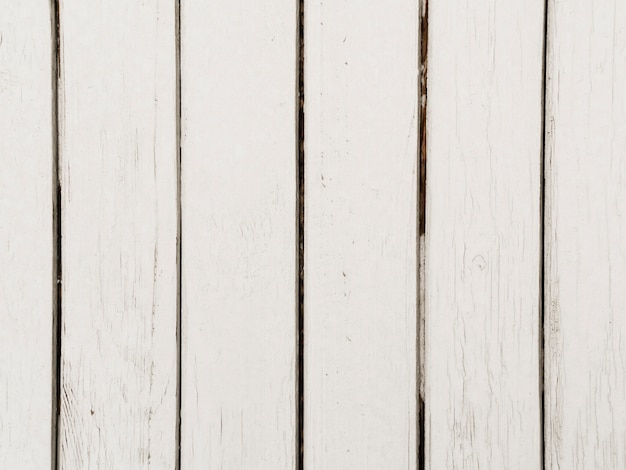 Close-up of white wooden textured background Free Photo