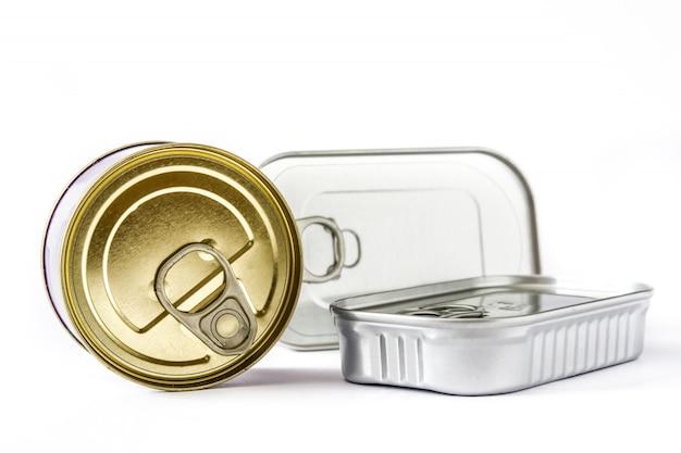 Jenis kemasan logam sering dijadikan kemasan produk, khususnya pangan