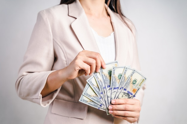 Image result for woman counting money