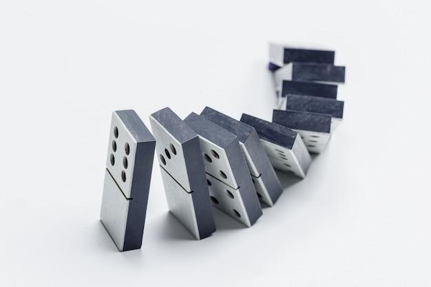Closeup of domino game Premium Photo