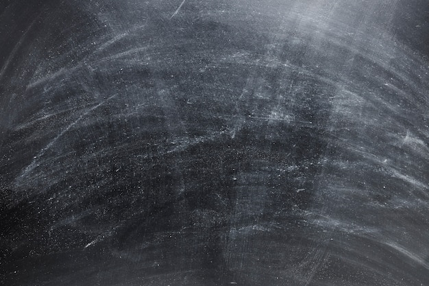 Closeup of empty black chalkboard Premium Photo