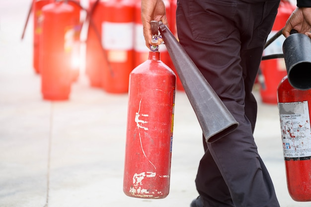 toolbox talks fire extinguishers
