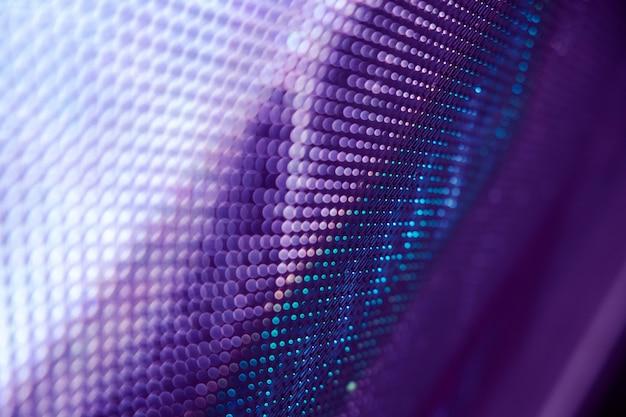 Closeup led blurred screen background Premium Photo