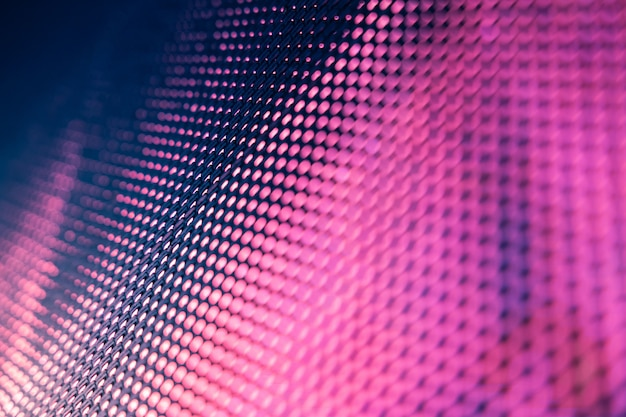 Closeup led blurred screen. led soft focus background Premium Photo