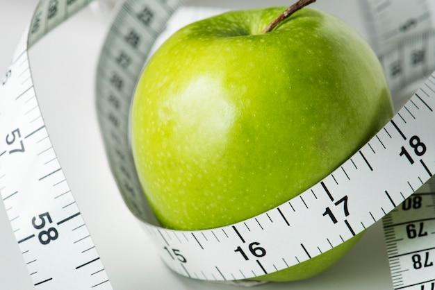 Closeup of measuring tape Free Photo