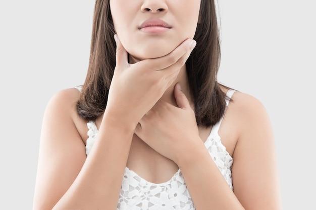 Меланома может развиться в области гортани