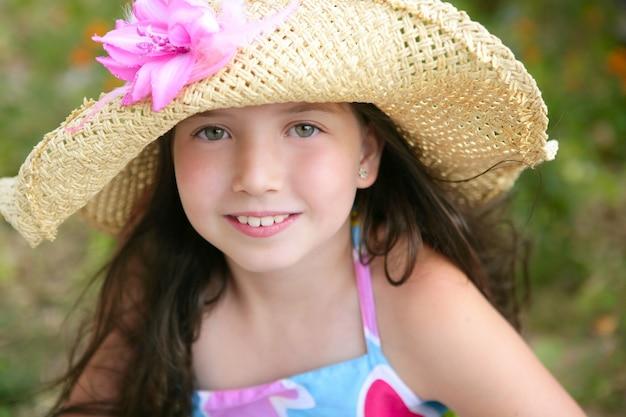 Closeup portrait of beautiful teen girl Premium Photo
