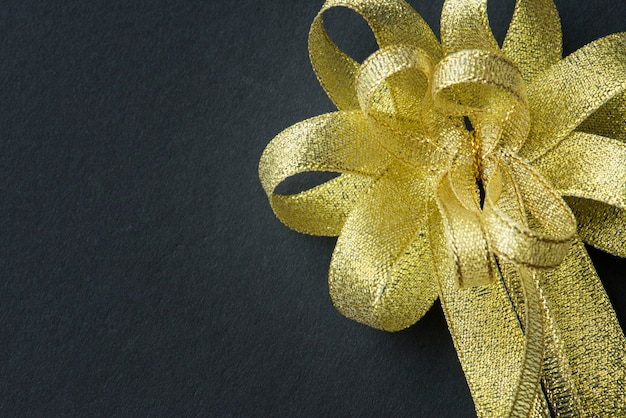 Closeup of ribbon decorated Free Photo