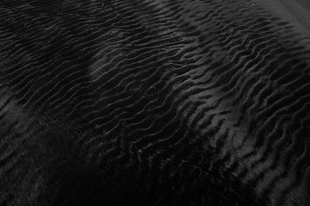 背景として使用するのに最適な黒いベルベットテクスチャのクローズアップショット 無料写真