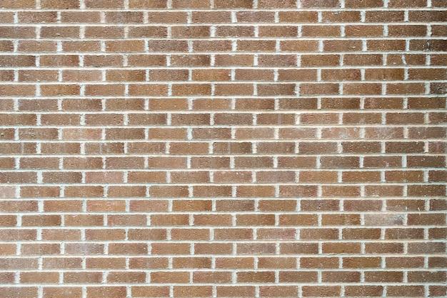 長方形のレンガで作られた壁のクローズアップショット 無料写真