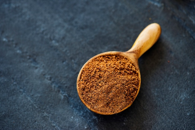 Closeup of spice power texture Free Photo