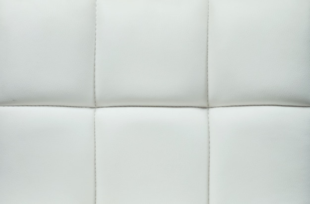 Closeup surface of gray leather of sofa texture Premium Photo