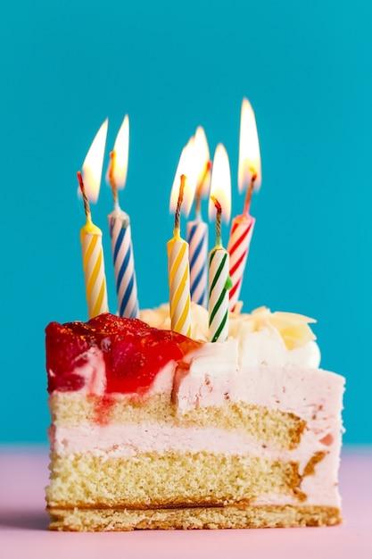Outstanding Closeup Of Tasty Beautiful Appetizing Elegant Piece Of Birthday Personalised Birthday Cards Petedlily Jamesorg