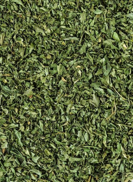 Closeup of tea leaf Free Photo