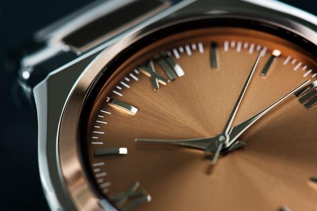 Closeup of watch Free Photo