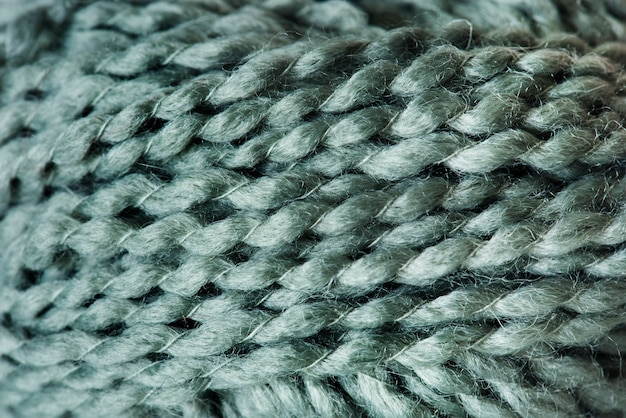 Closeup of wool fabric Free Photo
