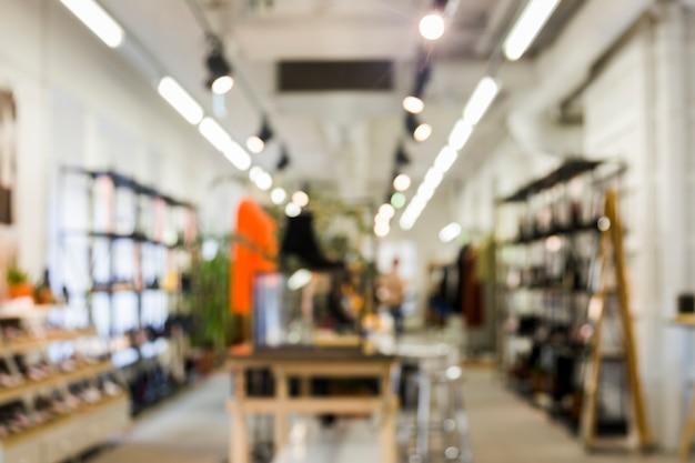 Магазин одежды с размытым эффектом Бесплатные Фотографии