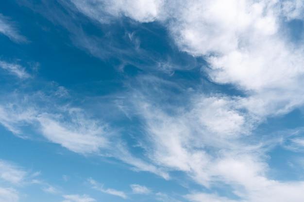 Nuvole nel cielo orizzontale girato Foto Gratuite