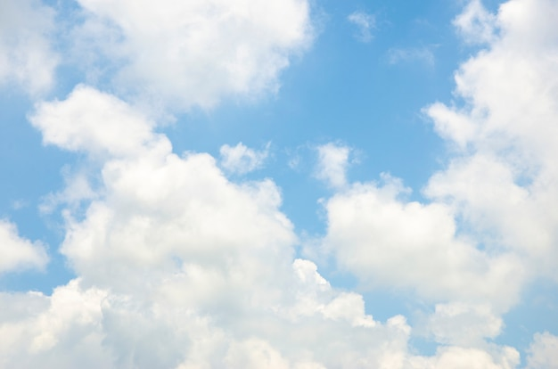 Clouds and sky with blurred pattern background Premium Photo