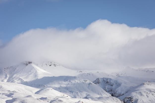 Облачно горный пейзаж Бесплатные Фотографии