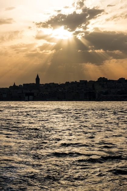 Cloudy sky at istanbul turkey Free Photo