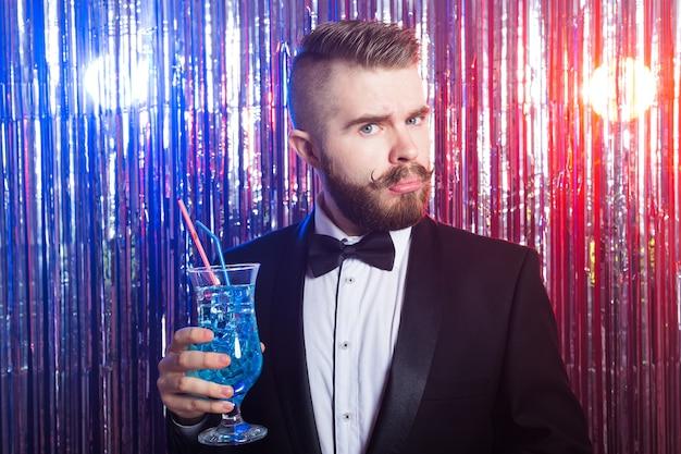 クラブパーティーと休日のコンセプト Premium写真