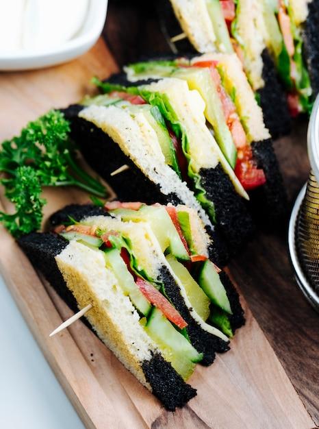 Club Sandwich Con Pane A Più Strati Foto Gratis
