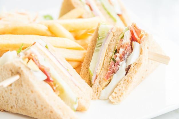 Club sandwiches Free Photo
