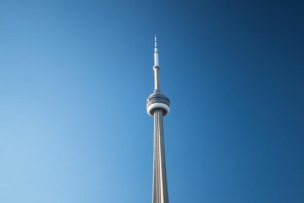 Premium Photo Cn Tower In Toronto Canada